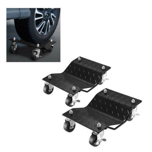 Dolly Tire Wheel Dollies Dolly Heavy Duty Vehicle Car Auto 2 Piece 1500LB Per- House Deals