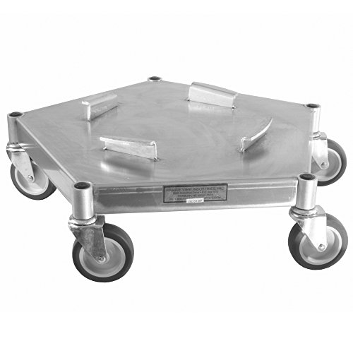 UltraSource Heavy Duty Caster Trash Can Dolly 625 lb Capacity Swivel Casters