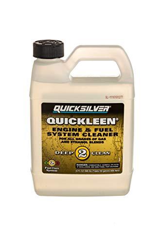 Quicksilver 8M0058681 Quickleen Engine Fuel System Cleaner 32 Oz