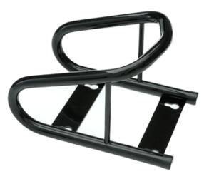 Black Powder Coated Cycle Wheel Chock Wheel Boot