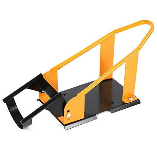 Cool furniture Motorcycle Front Wheel Chock Parking Rack Wheel Display Holder Yellow Black