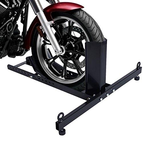 Lotus Analin Motorcycle Stand Wheel Chock Adjustable Upright 1800lb Capacity