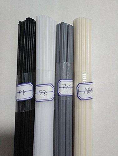 20PCS Plastic welding rods ABSPPPVCPE welder rods for plastic welder gunhot air gun 1PC195 Inch