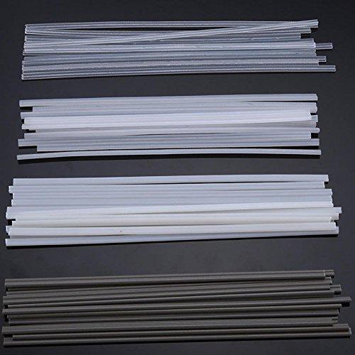 50PCS Plastic Welding Rods ABSPPPVCPE Welding Sticks 200mm for Plastic Welding - Electrical Welding Tools Welding Electrodes - 13 x PVC Welding Rods