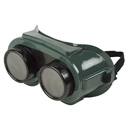 Sellstrom Flexible Soft Polyvinyl Chloride PVC Shade 5 IR Lens Indirect Vent Cover Welding Goggle Snug Seal Green Lens Size 50 mm Diameter S85250