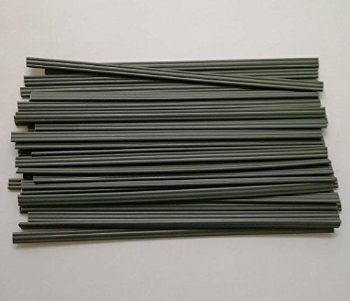 Three-Ply Plastic Welding Rod Grey PVC Welding Electrode 50PCS