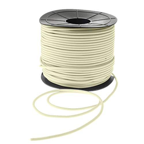 gazechimp Welding PVC Rods Electrode 100 Meter Soldering Rod Coil - Creamy White