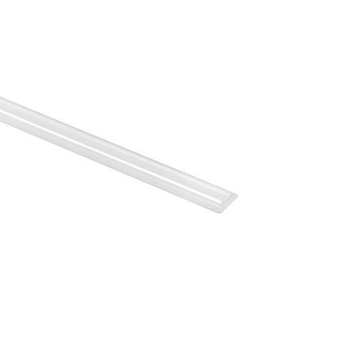 uxcell PVC Plastic Welding Rods5mm Wide25mm Thick1 MeterWelding Sticksfor Plastic Welder GunHot Air GunWhite5pcs