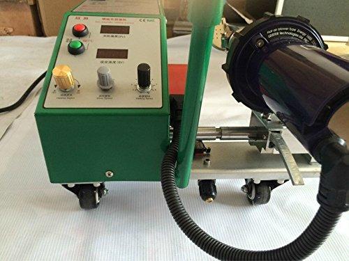 TOP-3400 Automatic Hot air Welder PVC Banner Welding Machine for PE Plastic Materials