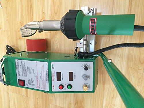 TOP2000B Hot air welder Flex PVC Banner welding machine 2-5cm 220V
