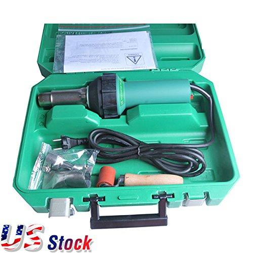 USA Stock - 1600W 110V Affordable Easy Grip Hand Held Plastic Hot Air Welding Gun Welder