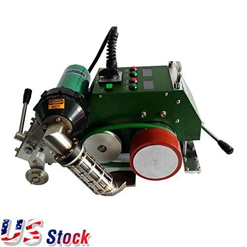 USA Stock - AC110V High Speed Hot Air Banner Welder Welding Machine with 30mm Welding Width