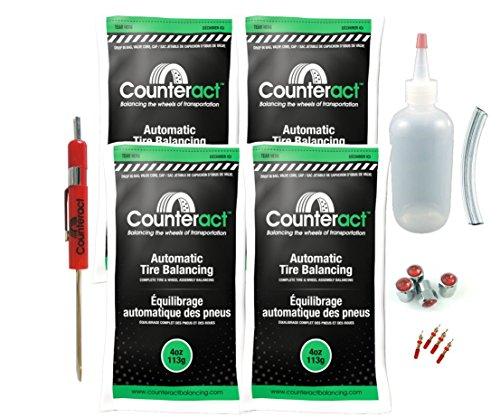 Counteract DIYK-4 Tire Balancing Beads - 4oz DIY Kit 16oz