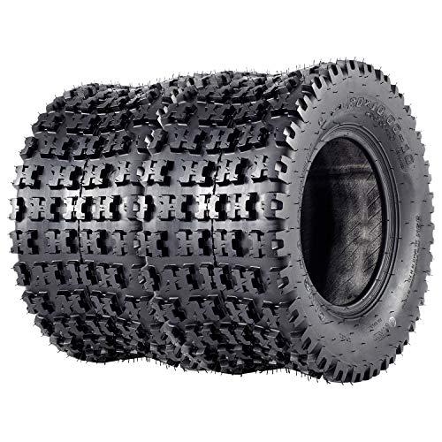 VANACC ATV Tires 20x10x10 Sport Quad GNCC Tire 20x10-10 20 inch 4PR Set of 2