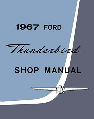 1967 Ford Thunderbird T Bird Shop Service Repair Book Manual Engine Electrical