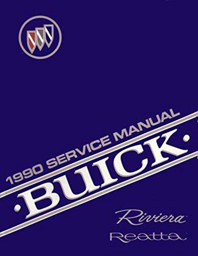 1990 Buick Reatta Riviera Shop Service Repair Book Manual Engine Electrical OEM