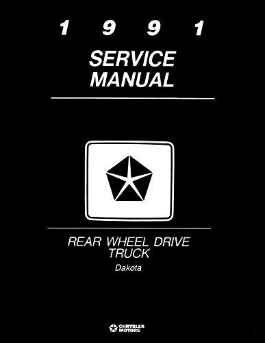 1991 Dodge Dakota Truck Shop Service Repair Manual Book Engine Electrical