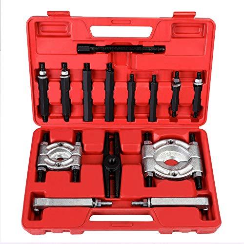 Bearing Puller  5-Ton-Capacity Bearing Separator  Wheel Hub Axle Puller  Pinion Bearing Removal Tool Kit  Bearing Splitter