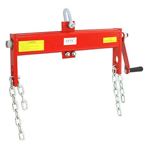 ZENY Engine Hoist Load Leveler 2 Ton 4000Lb Capacity for Shop Crane Cherry Picker