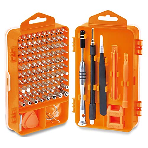 HORUSDY Precision Screwdriver Set with Phillips More& Torx Bits Non-Slip Magnetic Electronics Tool Kit