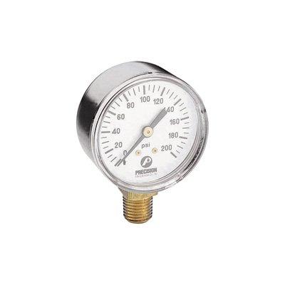 Northern Industrial Tools Air Pressure Gauge - 14in Inlet 200 PSI