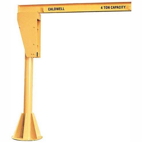 Caldwell A360-1-1012 Floor Mounted Jib Crane 1 Ton 10 Height 12 Span