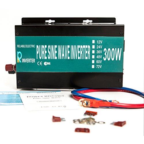 Reliable 300W Off Grid Pure Sine Wave Inverter 24v 120v Home Solar System Solar Power Generator LED Display