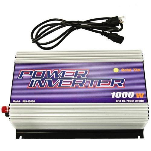iMeshbean 1000W Pure Sine-wave Gird Tie Solar Power Inverter 22-60V DC In 120V AC Output US SELLER