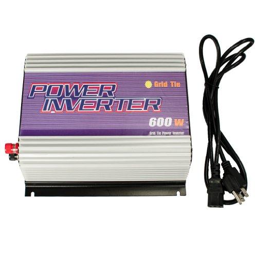 iMeshbean New 600W Walt MPPT Grid Tie Solar Power Inverter 22~ 60V DC Input Pure Sine Wave
