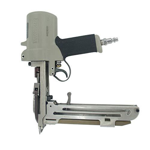 Woodpecker HR-22 Hog Ring Plier 15 guage 34-Inch Air Pneumatic Long Magazine Hog Ring Plier D-Ring Gun Hog Ringer Gun