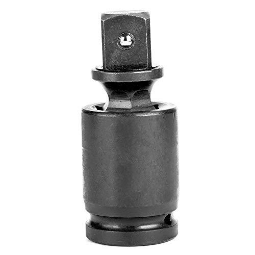 Riuty Universal Joint Impact Socket 360 Degree Joint Swivel Adapter Black Air Impact Wobble Socket 5