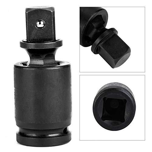 Universal Joint SENRISE 14 Drive Joint Sockets Impact Socket Drive Socket Adapter Swivel Wobble Socket Pack of 1