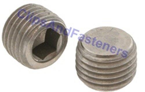 5 M12-15 Hexagon Socket Pipe Plugs Steel DIN 906