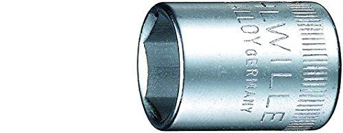 Stahlwille 40-13 Steel Hexagon Socket 14 Drive 6 Points 13mm Diameter 23mm Length 178mm Width