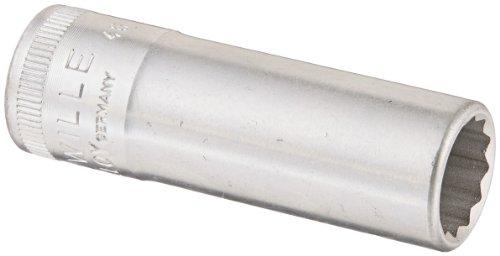 Stahlwille 46-12 Steel Extra Deep Bi-Hexagon Socket 38 Drive 12 Points 12mm Diameter 54mm Length 175mm Width