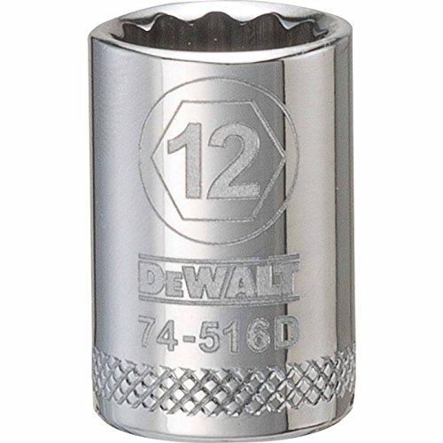 DEWALT 38 12 PT Socket 12MM