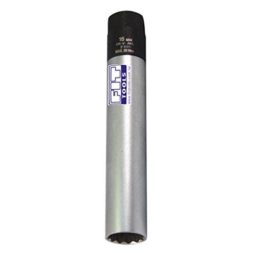 FIT TOOLS 16mm Dr Right Force Fasten Spark Plug Torque Limited Socket