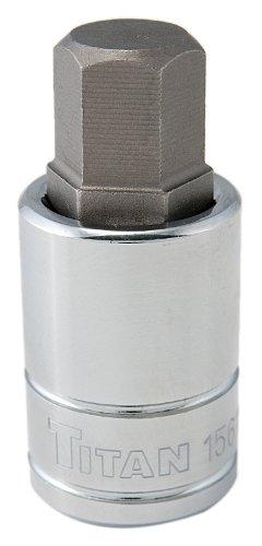 Titan Tools 15616 16mm 12 Drive Hex Bit Socket