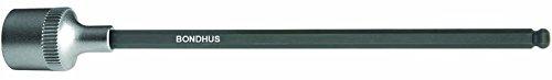 Bondhus 43876 10mm ProHold 38 Drive Socket Ball End Bit with ProGuard Finish 6