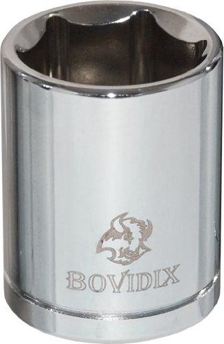 Bovidix 5040111 12-Inch Drive Socket 6 Point Metric - 18mm