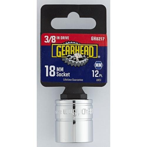 Gearhead 38 Drive 18mm Socket GH8217