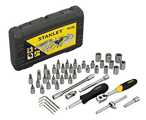 Stanley STMT727948 46-Piece 14 Drive Metric Socket Set ~ITEM GH8 3H-J3G8324800