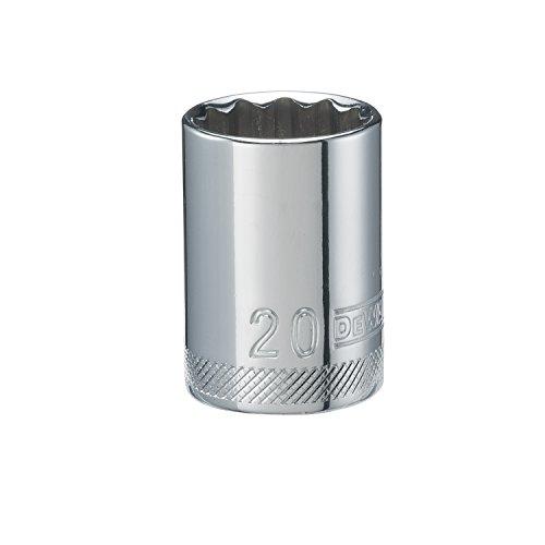 DEWALT 12 6 PT Standard Socket 20MM