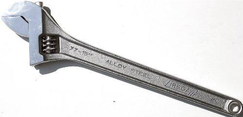 Irega 77-15 15-Inch Adjustable WrenchTriple-Chrome Finish