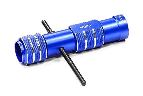 Integy RC Model Hop-ups C24713BLUE Professional Wheel Nut 24mm Hex Socket Wrench Handle Size 32mm