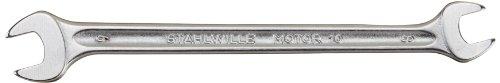 Stahlwille 10-8X9 Steel Double Open End Spanner 8mm x 9mm Diameter 140mm Length 21mm Width