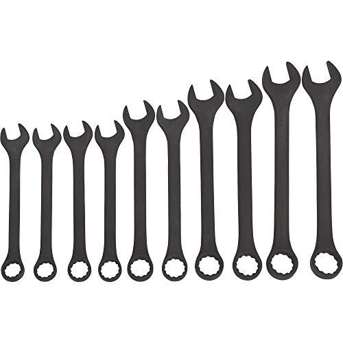 Ironton Jumbo Combination Wrench Set - 10-Pc SAE