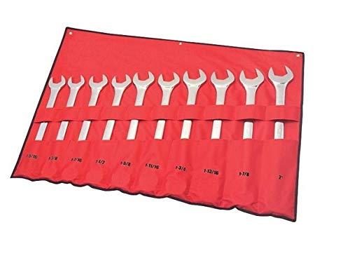Xtreme Torque 19621 10-pc SAE Jumbo Combination Wrench Set