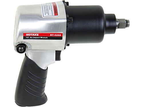12 Drive Air Pneumatic Impact Wrench Gun Adjustable FR 500ft-lb
