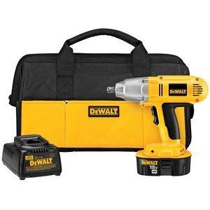DEWALT DW059K 18-Volt NiCad 12 in 13 mm Cordless Impact Wrench Kit